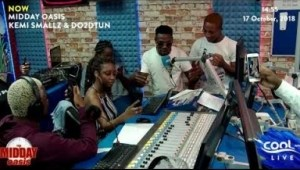 Video: Limerick & Picazo Killed The YBNL Mafia's Hot Freestyle At Cool FM.